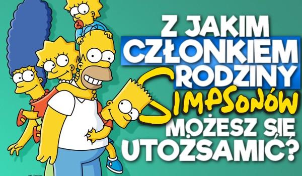 Z jakim członkiem rodziny Simpsonów możesz się utożsamić?