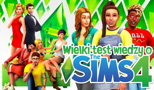 Wielki test wiedzy o The Sims 4!