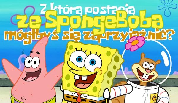 """Z jaką postacią ze """"SpongeBoba Kanciastoportego"""" mógłbyś się zaprzyjaźnić?"""
