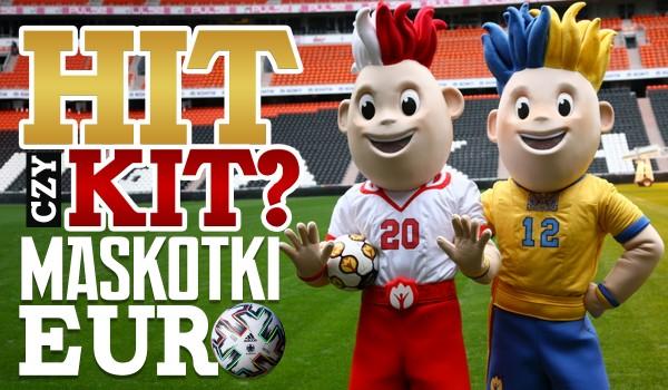 Hit czy kit? – maskotki Mistrzostw Europy w piłce nożnej!