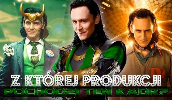 Z której produkcji pochodzi to zdjęcie Lokiego?