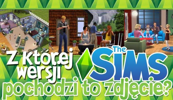 Z której wersji The Sims jest to zdjęcie?