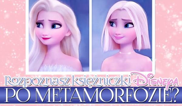 Czy rozpoznasz księżniczki Disneya po metamorfozie?