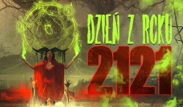 Dzień z roku 2121!