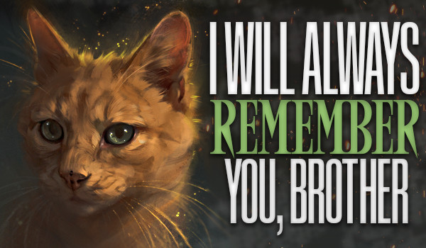 I Will Always Remember You, Brother — One Shot