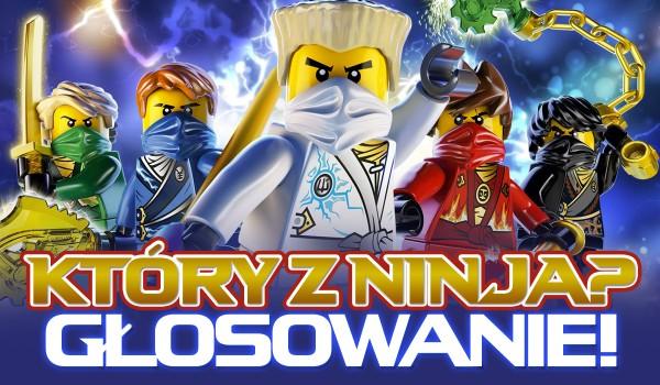 Który z ninja? – głosowanie!