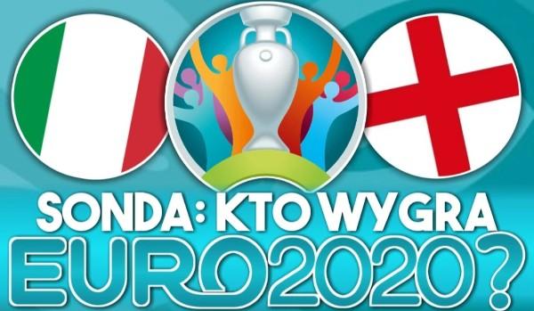 SONDA: Kto wygra EURO 2020?