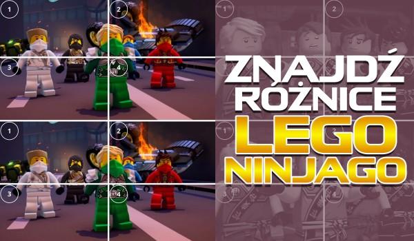 Znajdź różnice – LEGO Ninjago!