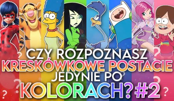 Czy rozpoznasz kreskówkowe postacie jedynie po kolorach? #2