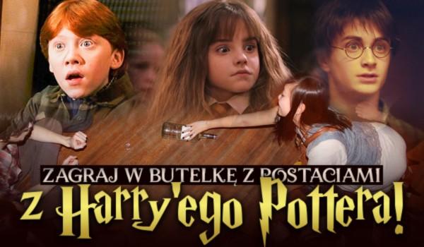 """Zagraj w butelkę z postaciami z """"Harry'ego Pottera""""!"""