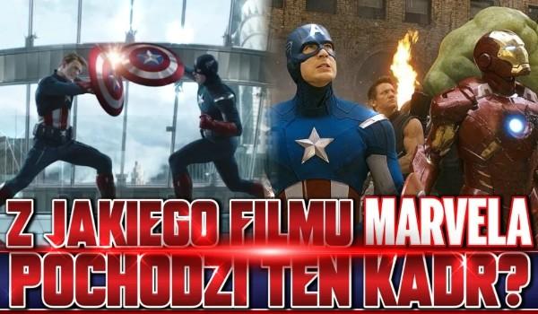 Czy wiesz, z jakiego filmu Marvela pochodzi ten kadr?
