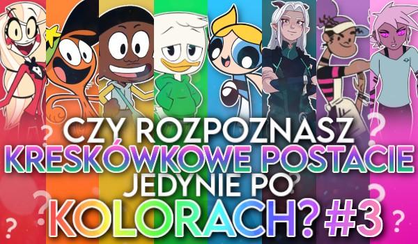 Czy rozpoznasz kreskówkowe postacie jedynie po kolorach? #3