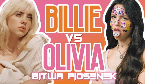 Bitwa piosenek – Olivia Rodrigo vs. Billie Eilish!