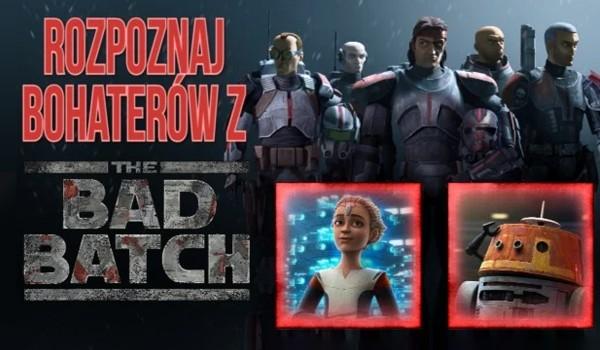 Rozpoznaj bohaterów z The Bad Batch!