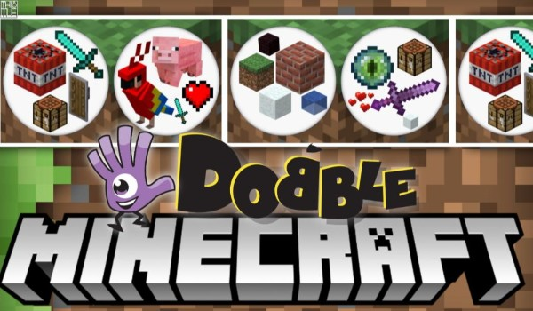 Dobble – Minecraft!
