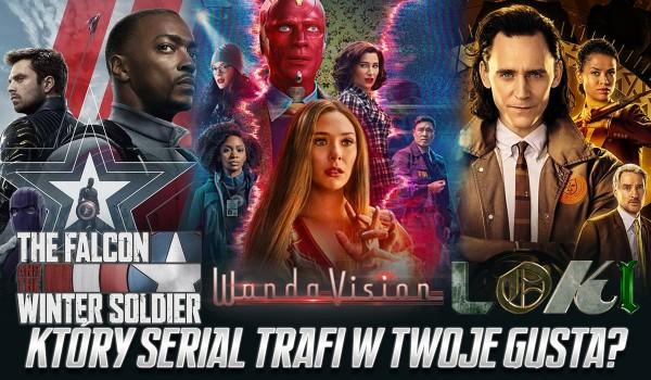 WandaVision, Falcon i Zimowy Żołnierz czy Loki – który z seriali Marvela najbardziej trafi w Twoje gusta?