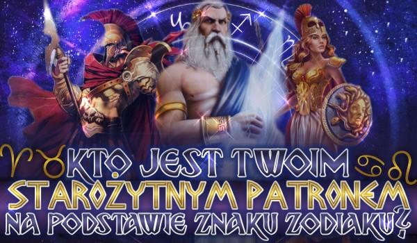 Kto jest Twoim starożytnym patronem na podstawie znaku zodiaku?