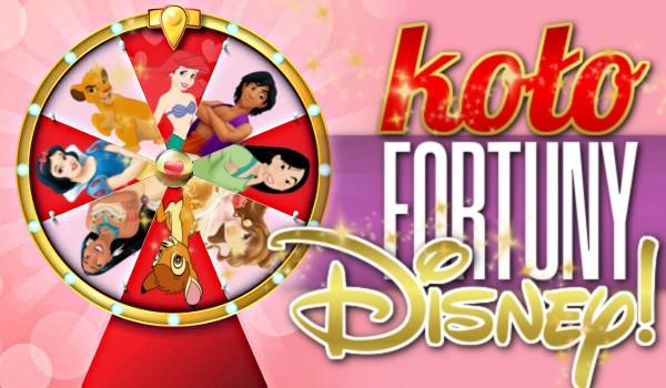 Koło Fortuny – Disney!
