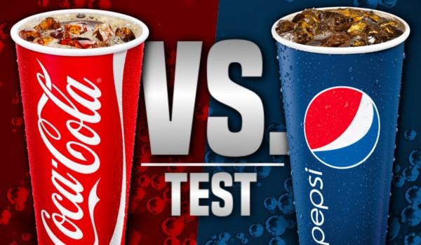 Coca-Cola vs. Pepsi – Test