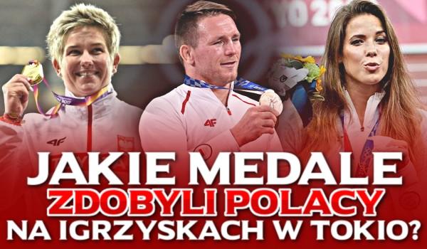 Jakie medale zdobyli Polacy na Igrzyskach Olimpijskich w Tokio?