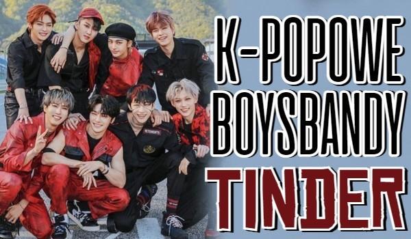 K-popowe boysbandy — Tinder