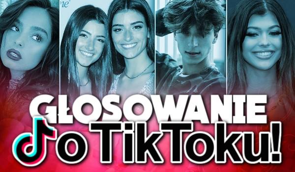Głosowanie o TikToku
