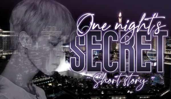 One night's secret •Vmin•