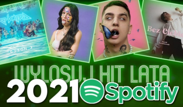 Wylosuj Hit Lata 2021 Spotify!