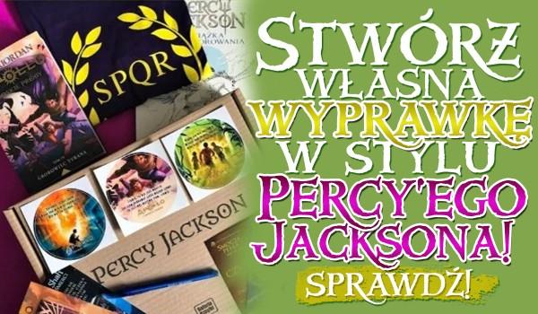 Kreator: Stwórz swoją własną wyprawkę szkolną w stylu Percy'ego Jacksona!