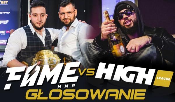 Fame MMA vs. High League