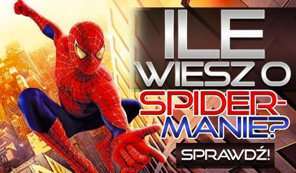 Ile wiesz o Spider-Manie?