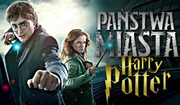 Państwa-miasta – Edycja Harry Potter!