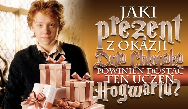 Jaki prezent z okazji Dnia Chłopaka powinien dostać ten uczeń Hogwartu? – Głosowanie!