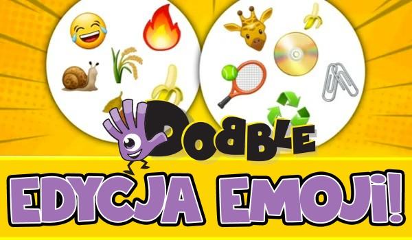 Dobble – Edycja emoji!