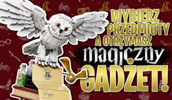 Wybierz przedmioty, a otrzymasz magiczny gadżet!