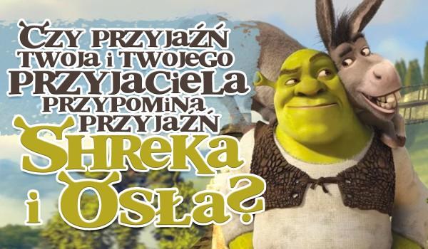 Czy przyjaźń Twoja i Twojego najlepszego przyjaciela jest podobna do przyjaźni Shreka i Osła? Sprawdź!