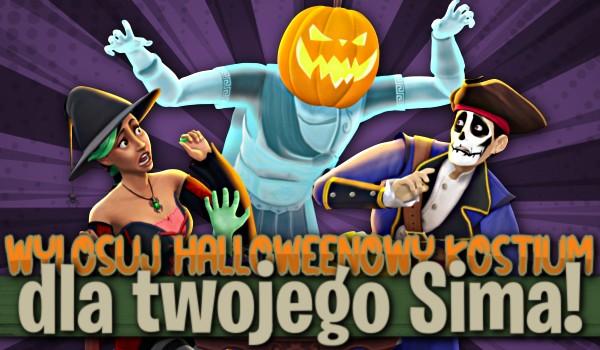 Wylosuj halloweenowy kostium dla Twojego Sima!